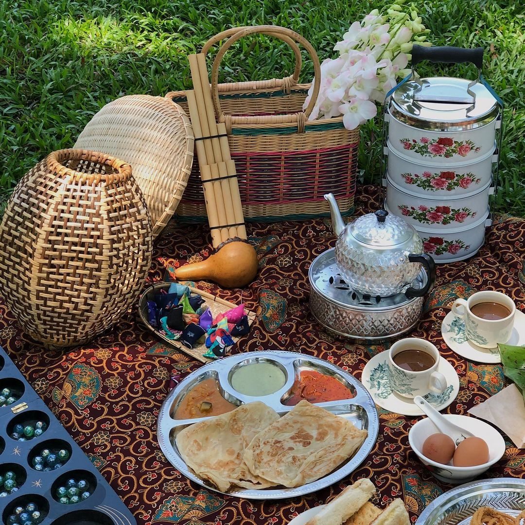 A picnic rental service with roti canai